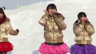 2016/2/7 なんぽろ冬まつり 北海道ご当地アイドルフルーティーの自己紹...