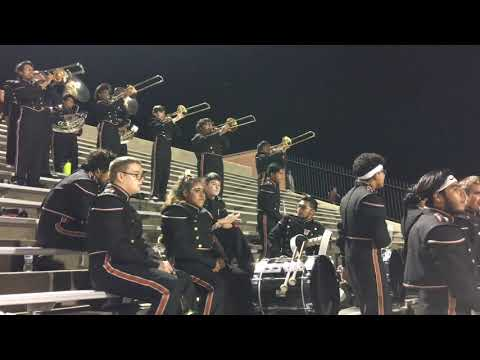 W T White high school Band 2017-18 Game 7 part 2