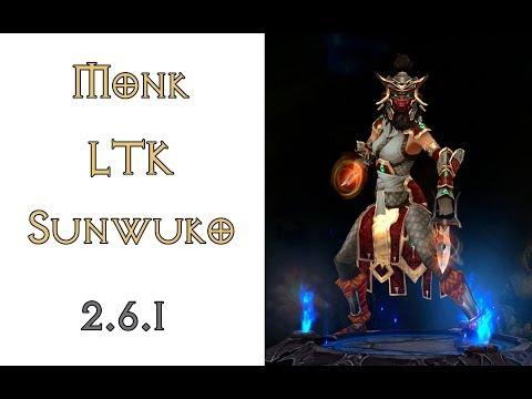 Diablo 3: пуш LTK монах в сете Наряд Короля Обезьян 2.6.1