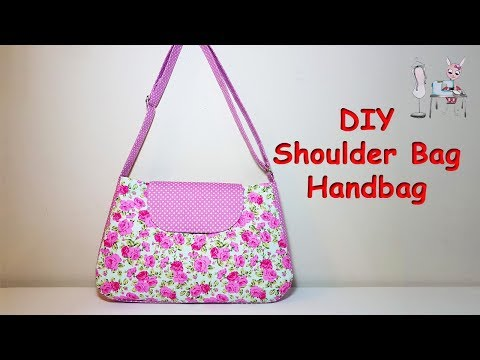 SHOULDER BAG | DIY BAG | HANDBAG  | PURSE BAG | BAG TUTORIAL | Coudre un  sac