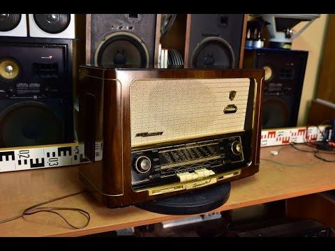 Grundig 3045W/3D Klang - Röhrenradio 1954-1955