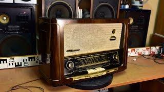 Grundig 3045W 3D Klang Röhrenradio 1954 1955