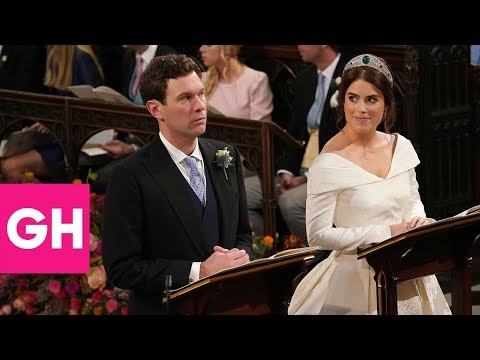 Body Language Experts Analyze Princess Eugenie and Jack Brooksbank's Wedding | GH