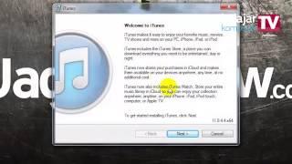 Mendownload dan menginstall iTunes