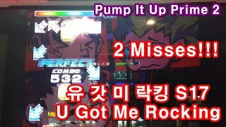 Gambar cover [지테TV Pump] 유 갓 미 락킹 S17 U Got Me Rocking 2 Misses!!! (Pump It Up Prime 2)