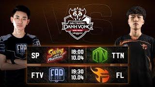 SP vs TTN | FTV vs FL - Vòng 9 Ngày 1 - ĐTDV Mùa Xuân 2019
