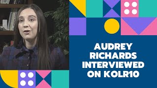 Audrey Richards Interviewed on KOLR10