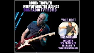 Robin Trower Promo for Interviewing the Legends