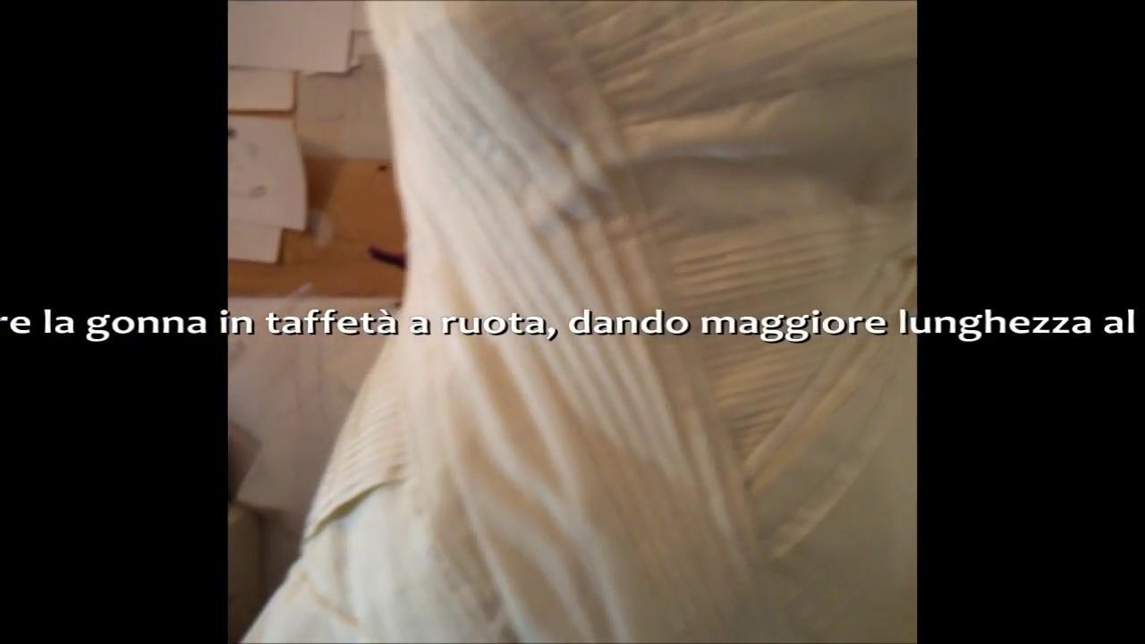 5c610b33de61 Come fare un abito da sposa con la tecnica del Moulage.wmv - YouTube