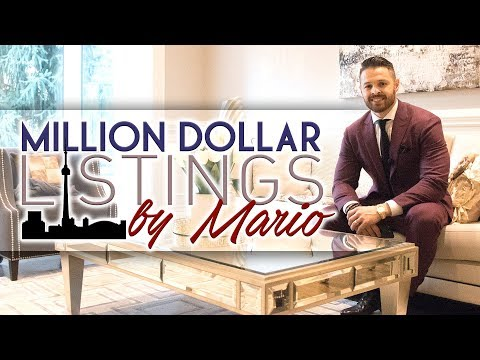 Million Dollar Listings By Mario! Luxury Homes In Toronto!  Episode 1