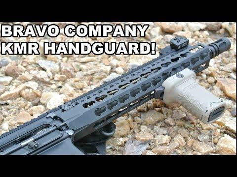 Bravo Company KMR Handguard! Lightweight KeyMod Innovation