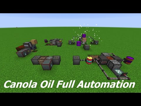Actually Additions Canola Oil Full Automation Tutorial - All Tiers