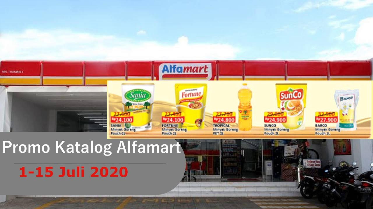 Promo Alfamart 1 15 Juli 2020 2 Minggu Youtube
