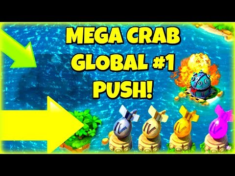MEGA CRAB ALL NIGHT LIVE! :: STAGES 0-30 :: GLOBAL #1  :: NEW BOOM BEACH EVENT!