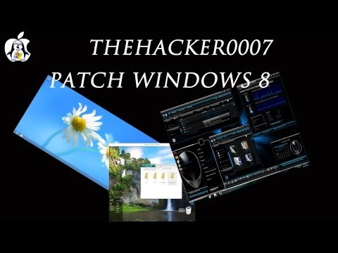 How to patch/install 3rd party themes on Windows 8