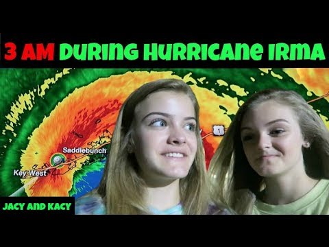 Thumbnail: 3 AM During Hurricane Irma ~ Jacy and Kacy