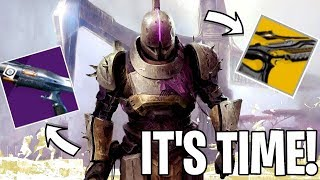 Destiny 2 | SEASON OF DAWN Exclusive Launch Stream! Finishing The Impossible Task Quest! HYPE!