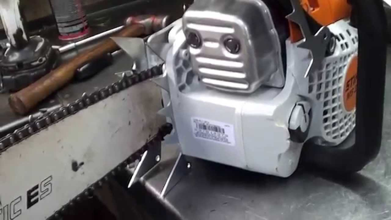 The chainsaw guy shop talk large falling spikes ms 311 stihl chainsaw 10 6 youtube - Stihl ms 311 ...