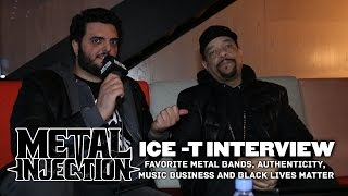 ICE-T on his Favorite Metal Bands, Authenticity, Black Lives Matter | Metal Injection