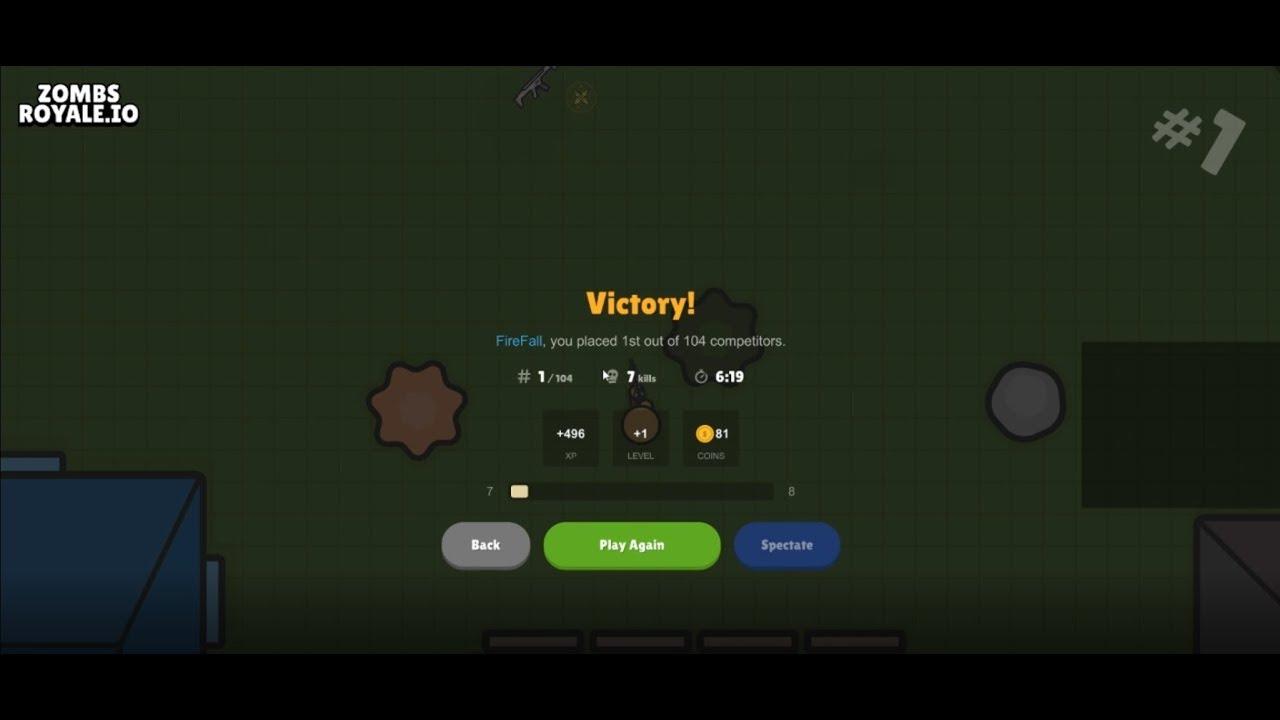 Zombs Io New Mode Battle Royale Zombsroyale Io Tips Tricks