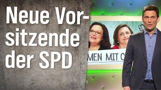 Die SPD hat eine Parteivorsitzende!