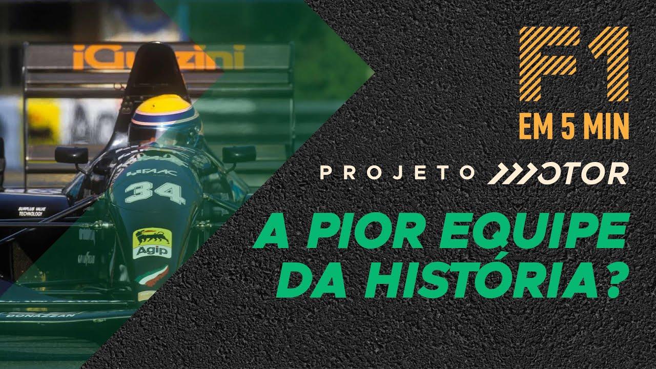 Relembre a ANDREA MODA e sua trajetória SOFRÍVEL pela Fórmula 1