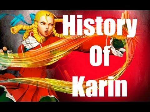 History Of Karin Street Fighter V