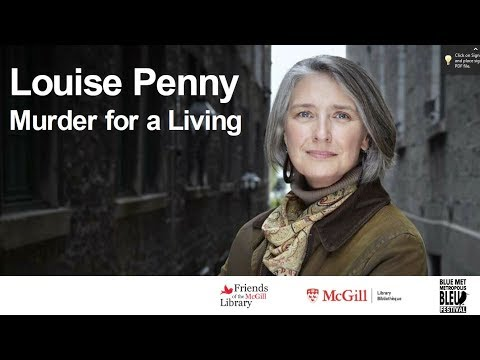Hugh Maclennan Lecture - Louise Penny