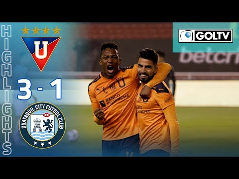 LDU Quito Guayaquil City Goals And Highlights