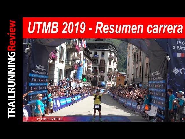 UTMB 2019 - Resumen de carrera