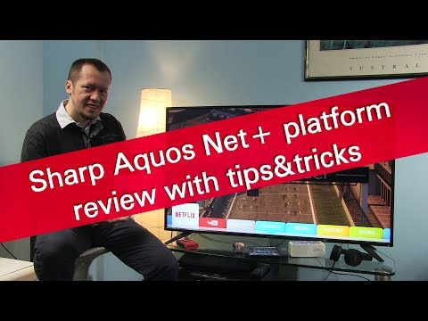 Sharp Aquos Net+ smart TV review with tips and tricks thumbnail
