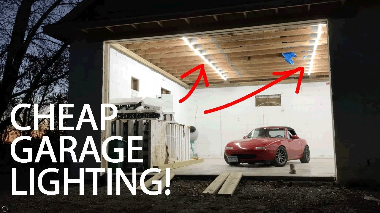 timeless design 0138d a9ea8 Cheap Budget led Garage Shop Lights
