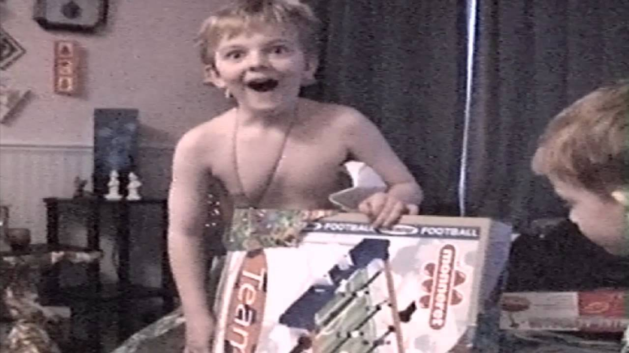10 Year Old Boy Opens Christmas Present Funny Reaction