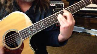 Alternate Tuning DGCGCD - Key G Natural Minor