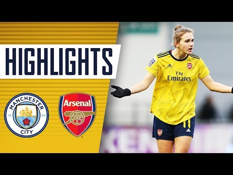 HIGHLIGHTS | Manchester City 2-1 Arsenal | Women's Super League