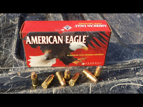Shooting/Review American Eagle 147 Grain FMJ Flat Point