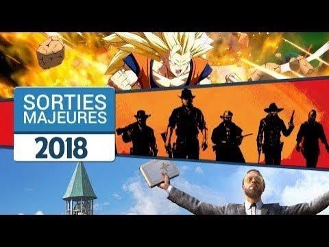 Les sorties majeures de 2018