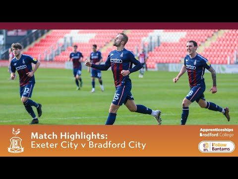 Exeter City Bradford Goals And Highlights