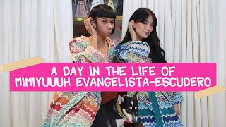 Mimiyuuuh as Heart Evangelista for a Day (NAMEET KO SIR CHIZ!!)