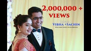 Karnataka's best wedding entry dance from best friends to Vibha + Sachin Part 1