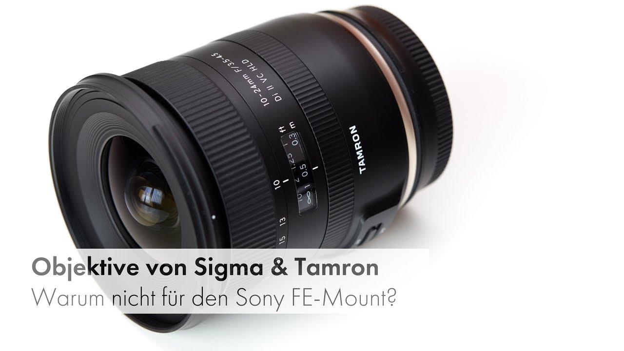 Sigma, Tamron & Co: Warum gibt es kaum Vollformat-Objektive für ...
