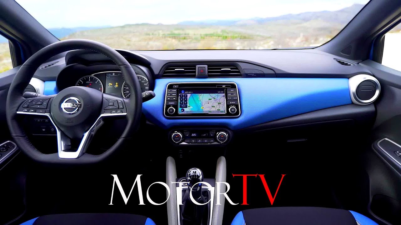 all new 2017 nissan micra l interior l clip youtube. Black Bedroom Furniture Sets. Home Design Ideas