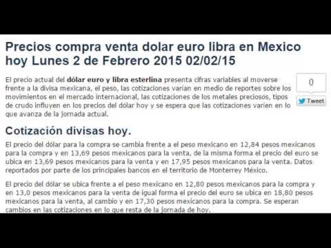 Precio euro dolar hoy forex