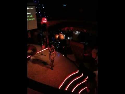 Whitney Houston? -- No, Karaoke in Cotonou, Benin
