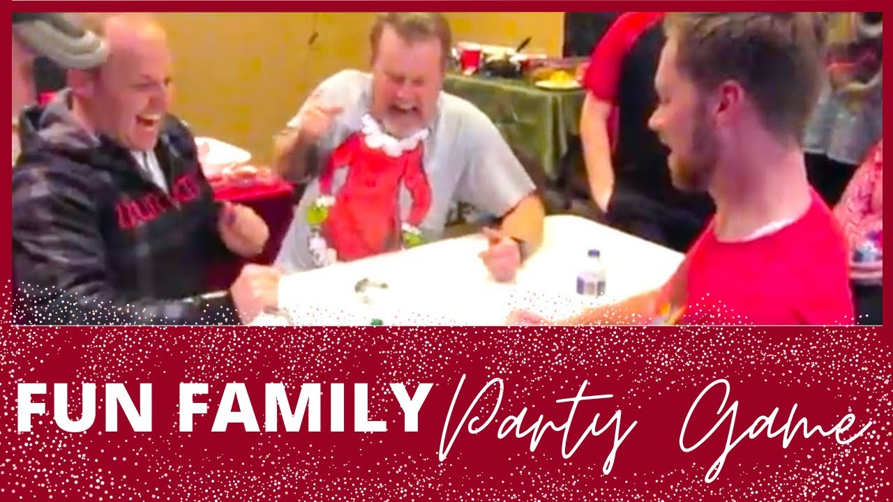 CHRISTMAS PARTY IDEAS | FUN ADULT PARTY GAME | CHRISTMAS PARTY GAMES