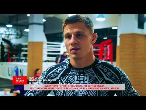Подготовка Игоря Егорова к бою против Питера Куилли на FIGHT NIGHTS GLOBAL 64 в Москве