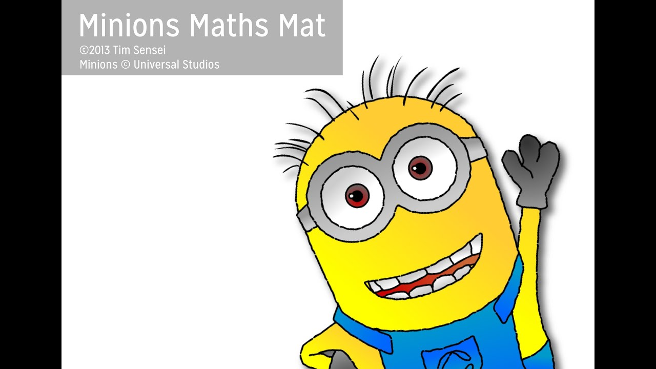 Math Mat Review Activity For Addition And Subtraction With