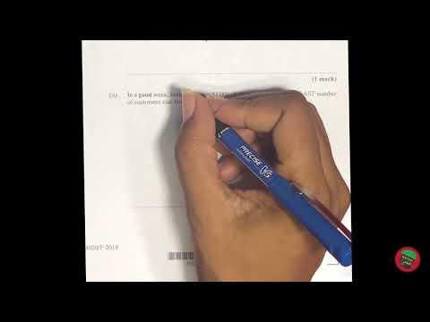 Question 1 | CXC CSEC May 2018 Mathematics Exam Paper 2 | Mathema-Genius