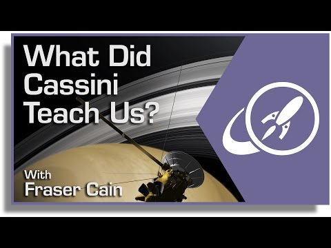 What Did Cassini Teach Us?