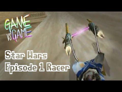 Star Wars Episode 1 Racer N64 vs Dreamcast - Game vs Game